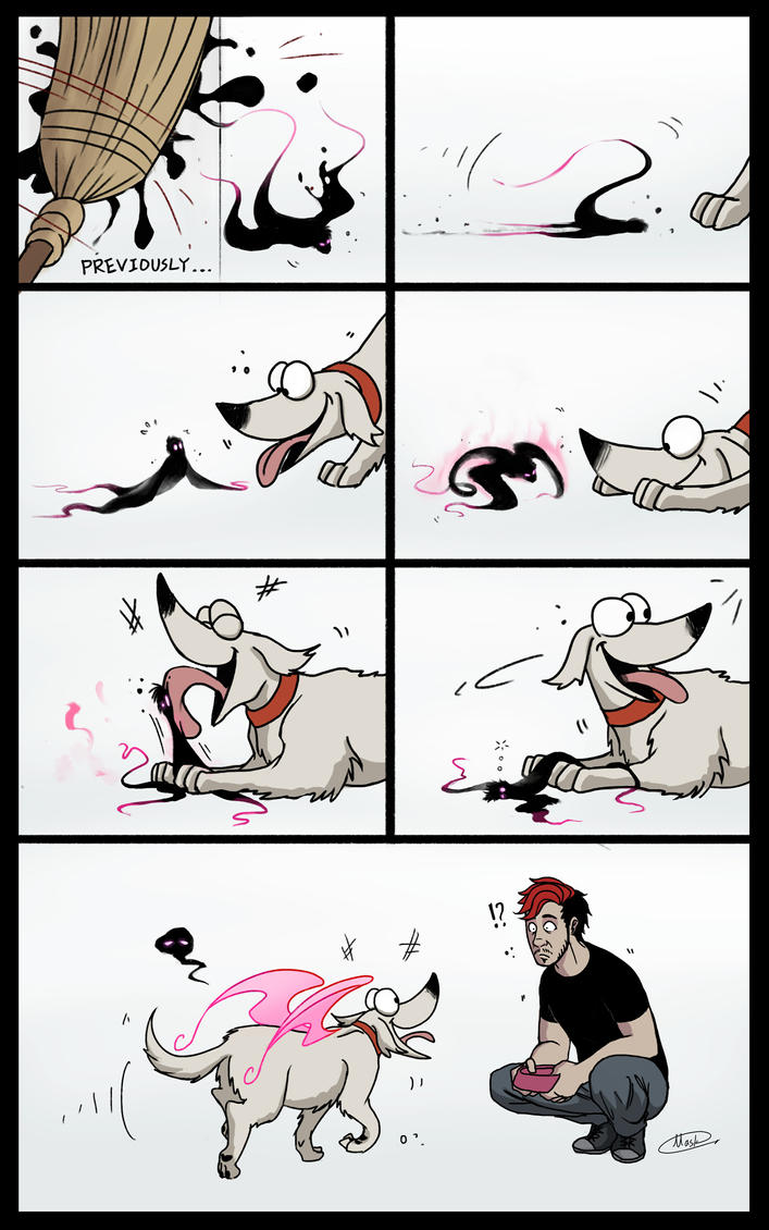 Meet the pup by maskman626