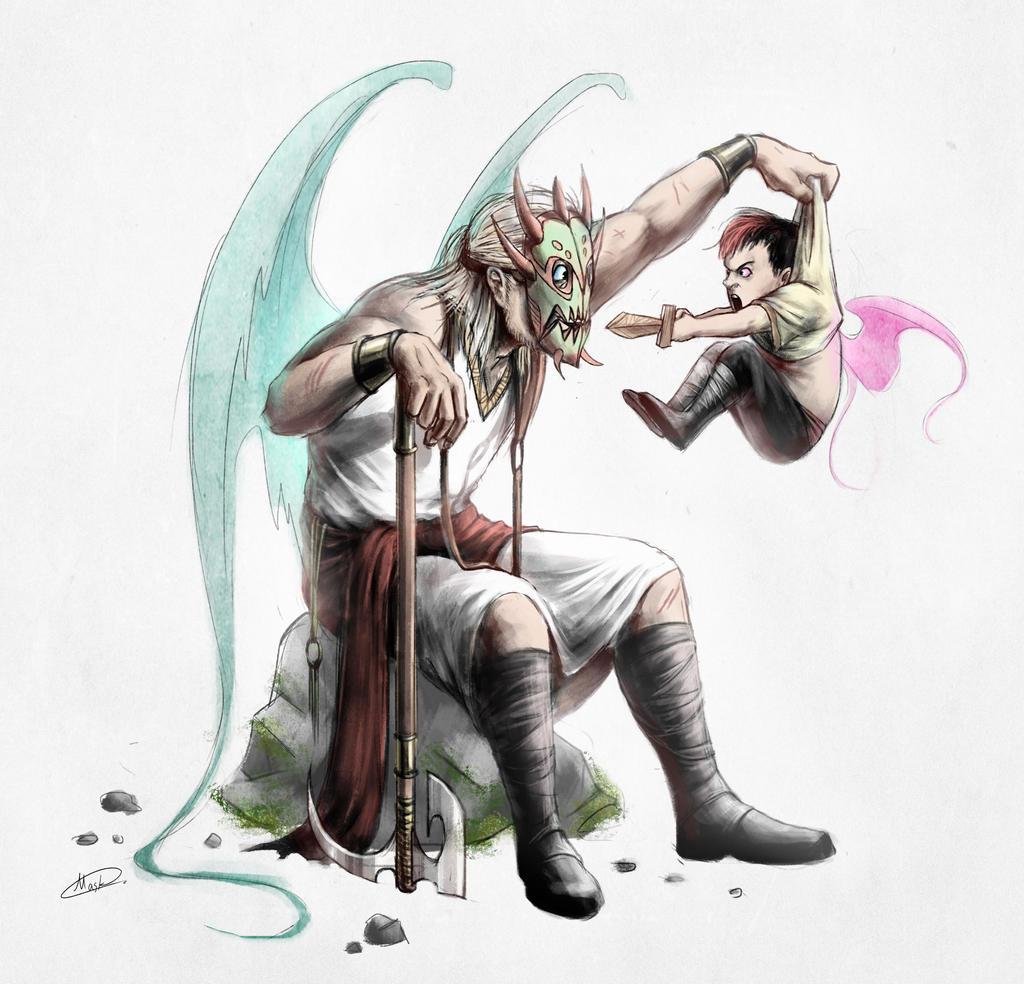 Little Warrior by maskman626