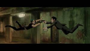 Movie Scenes parody - Matrix