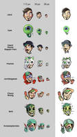 The twitch emotes 02_18