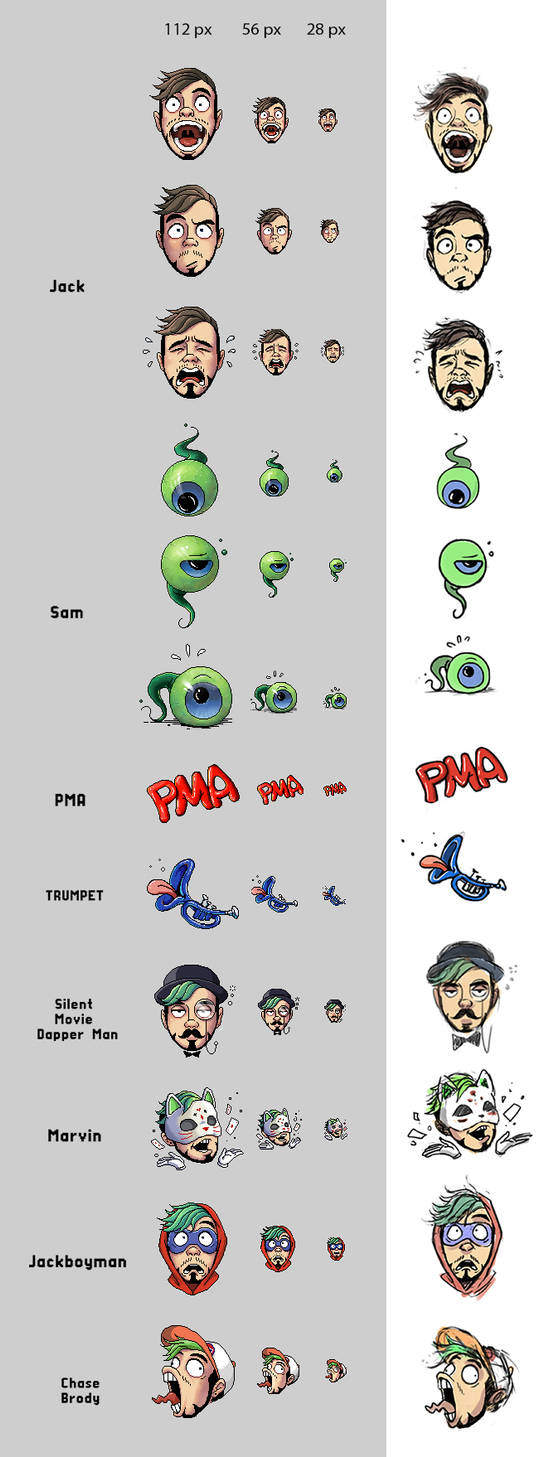 The twitch emotes 03_09 by maskman626 on DeviantArt