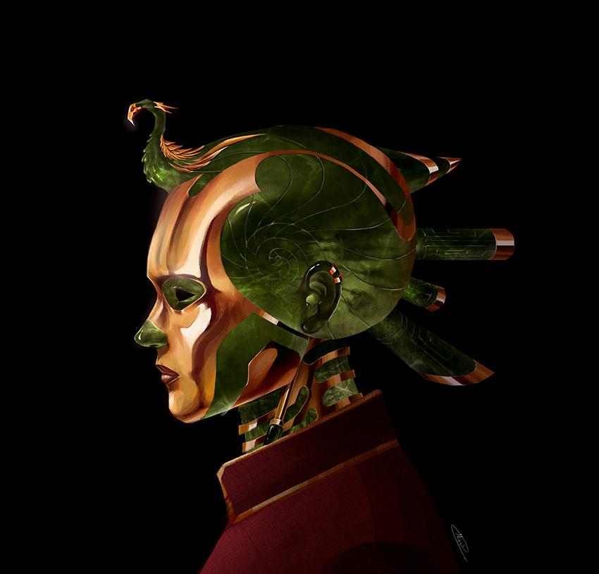 Royal - Peridot by maskman626