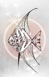 Mecha Angelfish