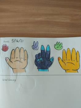 Hands (500 prompts/dA tutorial)