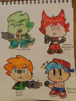 FNF Doodles