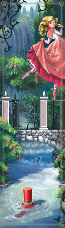 Dancing Princess Bookmark