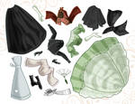 Princess Paper Dolls -sheet 2