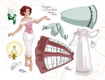 Princess Paper Dolls -sheet 1