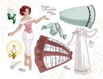 Princess Paper Dolls -sheet 1