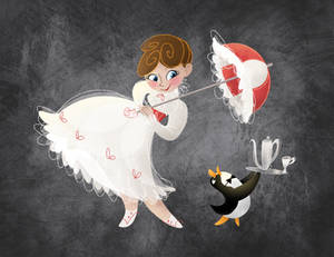 Chalky Mary Poppins