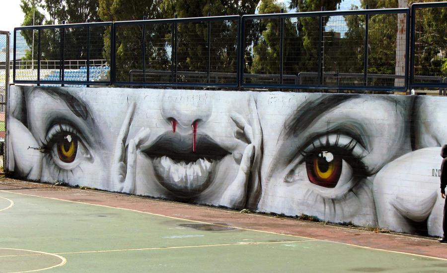 Addicted by urban-street-art