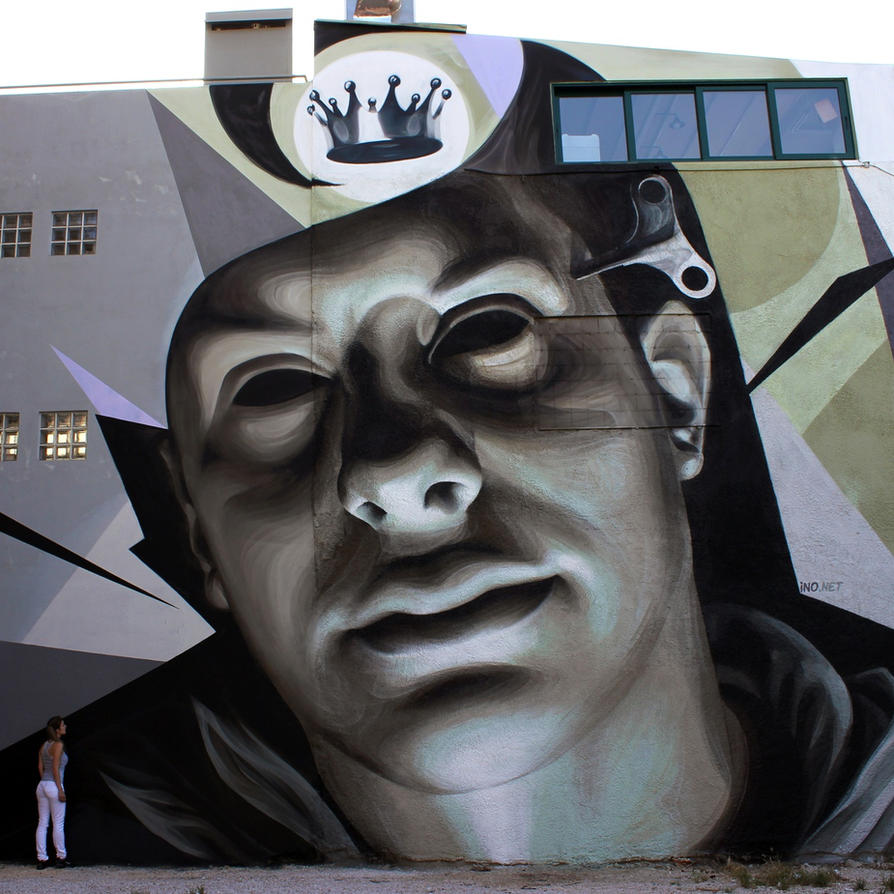 Dreaming by urban-street-art