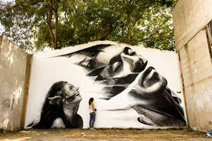 Lust by urban-street-art