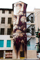 System of a Fraud by urban-street-art