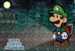 Paper Luigi's Mansion