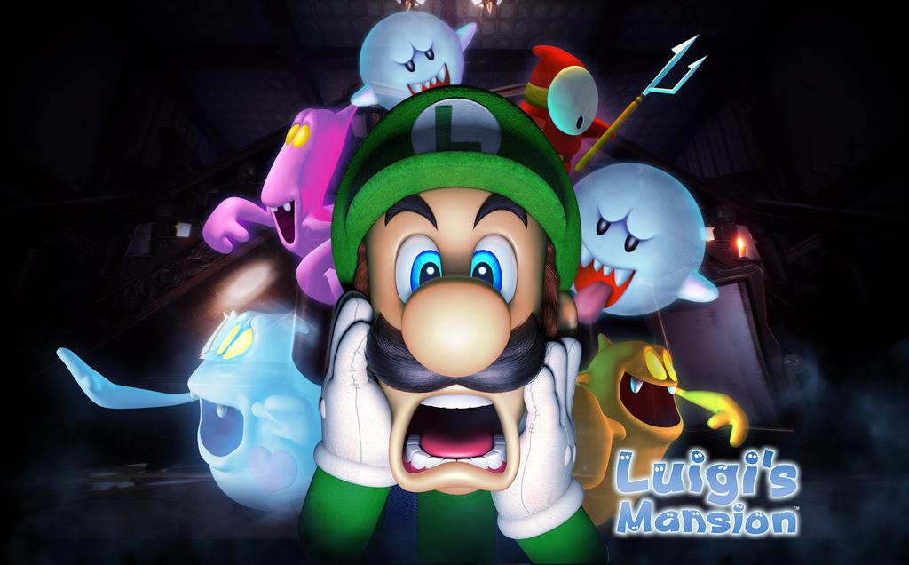 Luigi's Mansion 2018 Wallpaper by ...