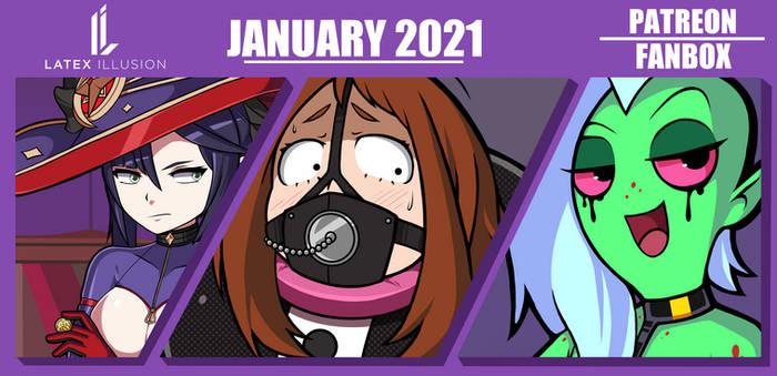 January 2021 Reward Preview