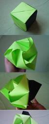 Origami Magic Rose Cube by KiYtZiA