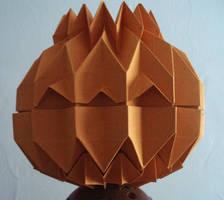 Origami Jack O'Lantern