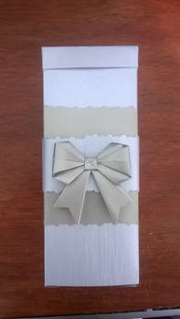 Box with a bow