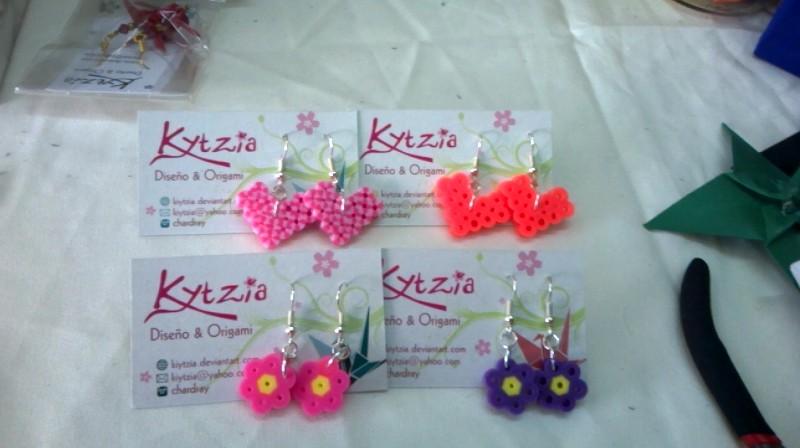 Perler earrings