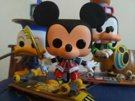 Mickey, Donald and Goofy