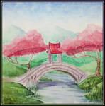 Landscape with the bridge