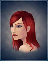 Commander Shepard by Maria-Lourana