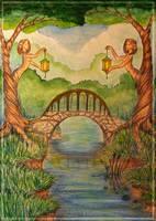 Dryads Bridge by Maria-Lourana