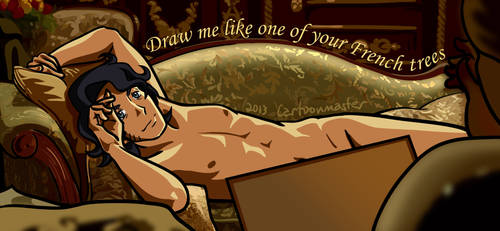 Draw me like one of your French... by crtoonmastr