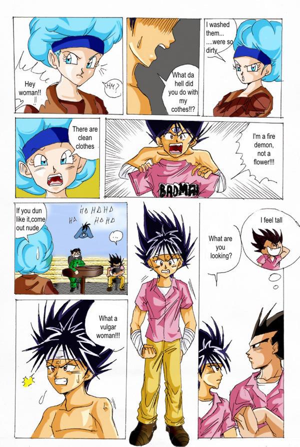 Dragon ball z sex comic images 83