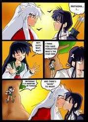 INUYaSHA AND KAGOME KISS*Edit* by Sandra-delaIglesia