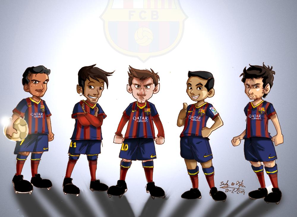 FC Barcelona 2016 Artwork MSN by Reher-Design on DeviantArt