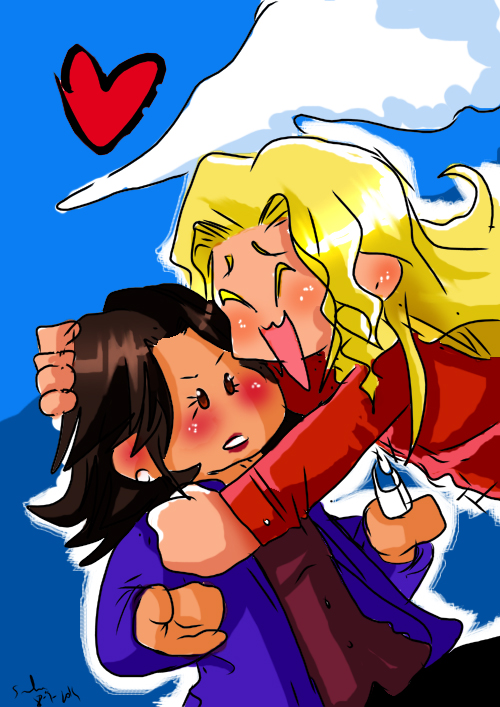 DOODLE: emma s squeezy attack by Sandra-delaIglesia