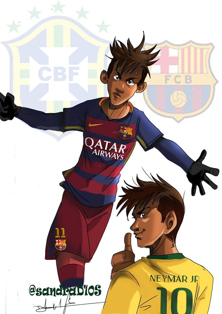 Neymar jr by Sandra-delaIglesia