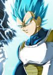 SUPER SAIYAN BLUE VEGETA