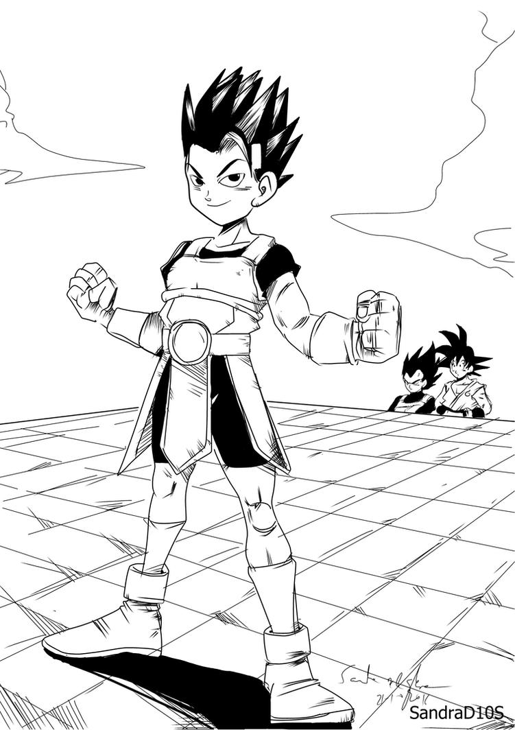 Cabba the new saiyajin by Sandra-delaIglesia