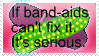 Band Aids by call-me-in-love