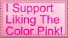 I Support Pink by call-me-in-love
