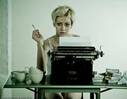 Writer's Block 8 by Scherbius