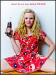 The Crass Cola Girl