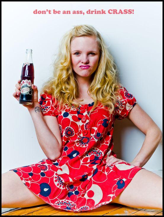 The Crass Cola Girl by Scherbius