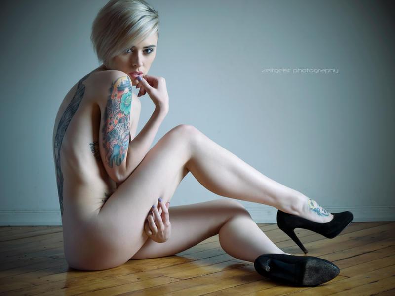 Alysha Nett in Heels