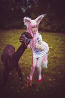 Don't be shy alpaca-chan by UniCatCosplay