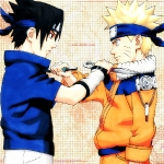 Naruto and Sasuke by sasuke-roxs