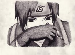 Sai Drawing by sasuke-roxs