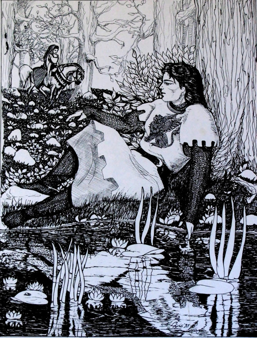 my lady cometh by chrisravensar