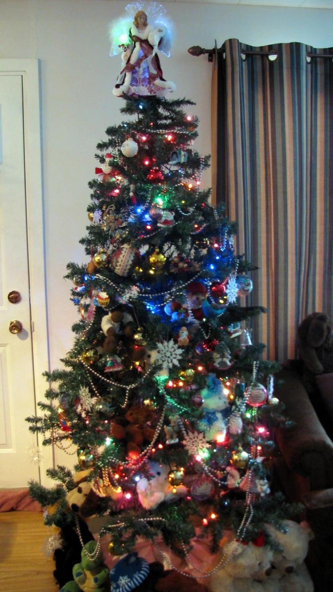 my Christmas tree by chrisravensar
