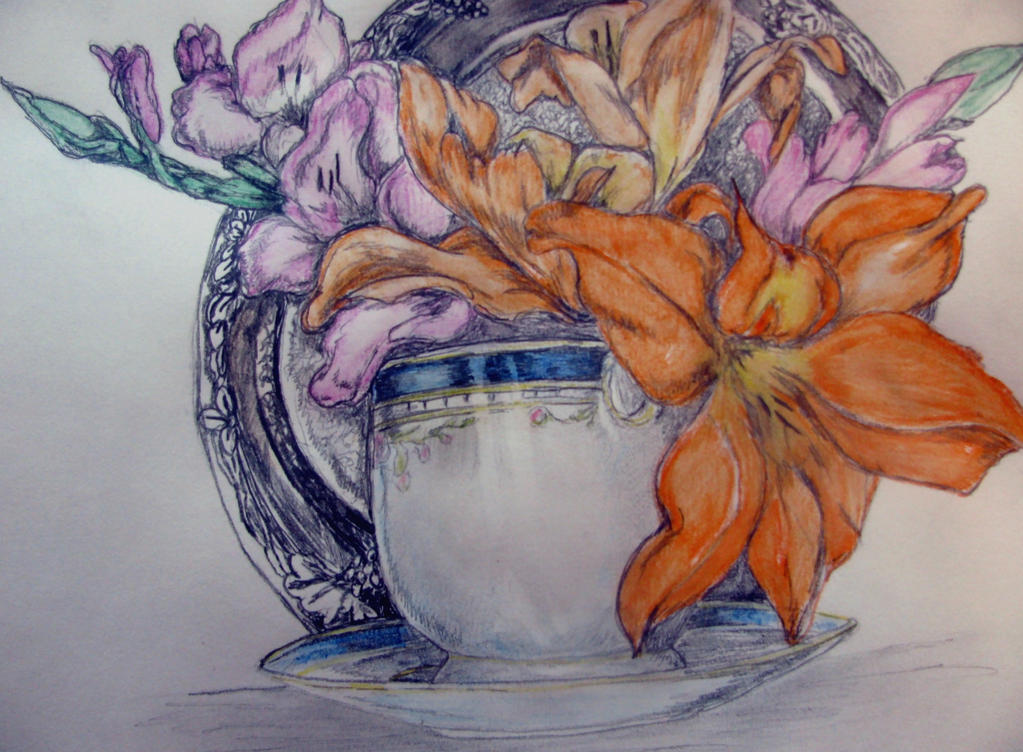 Glad tea traditional by chrisravensar