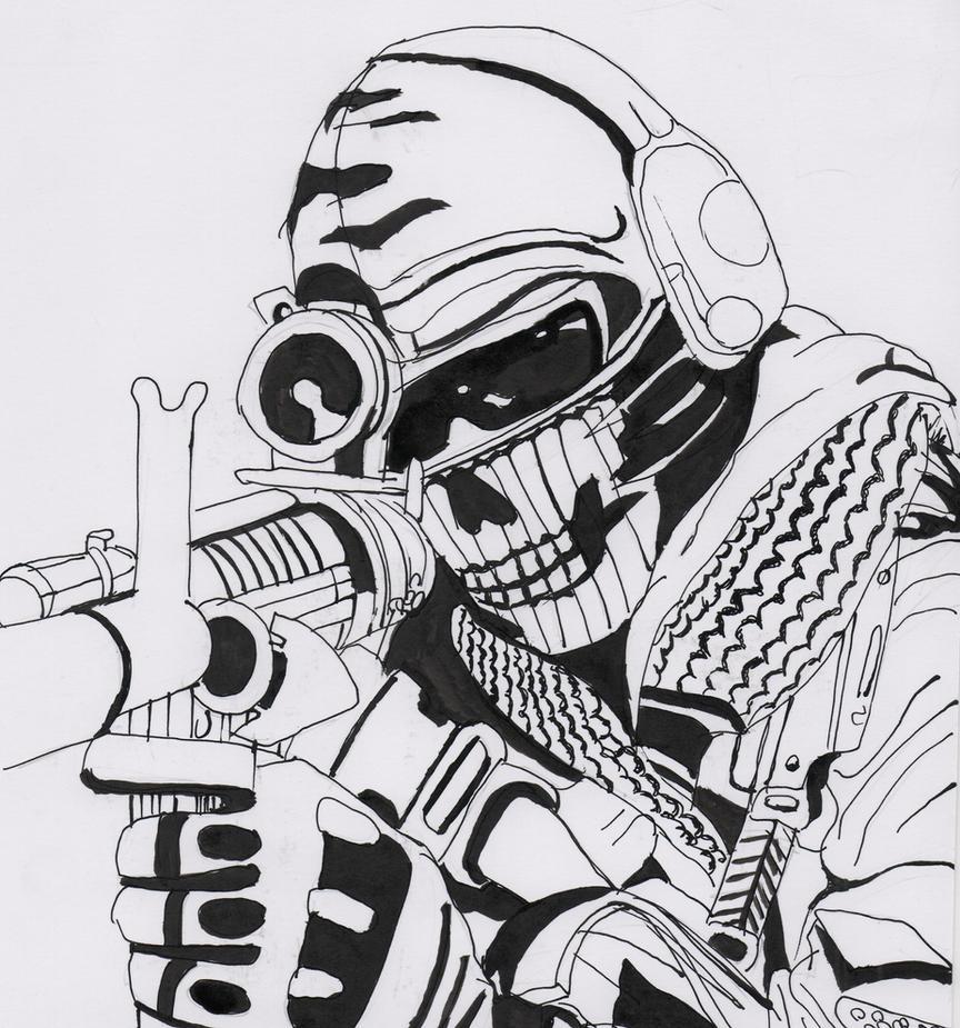 Ghost - Call of Duty by Kopale on DeviantArt